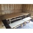 Mediniai stalai, suolai, Lauko baldai: B Nr.2